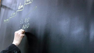 tabla de scoala Timisoara MediafaxFoto 10.07
