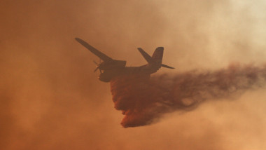 avion apa incendiu foc - GettyImages - 28 iulie 2015