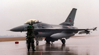 avion f-16 portugalia GettyImages-909407