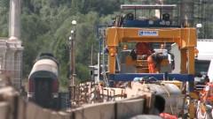 podul prieteniei lucrari - captura - 23 iulie 2015