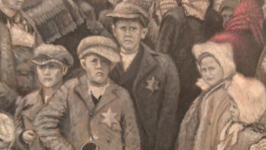 copii evrei deportati