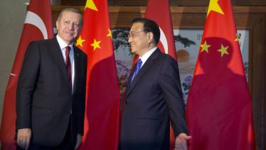 erdogan cu premierul chinez li keqiang - GettyImages-482251310- 30072015