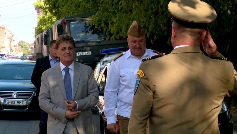 ministru Mircea Dusa salutat