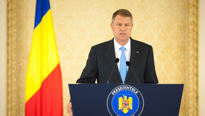 Klaus Iohannis conferinte de presa - presidency 4 -1