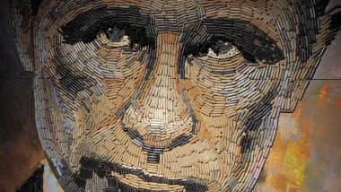portretul lui putin din cartuse gloante - 31 07 2015