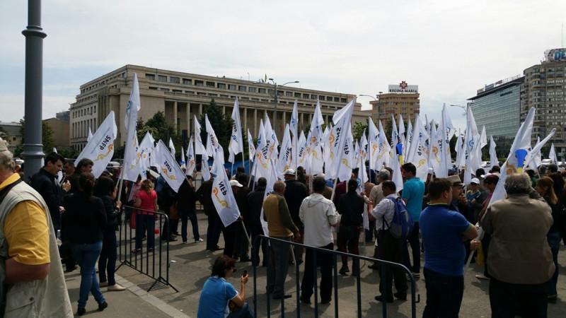 proteste sindicat snfp.ro