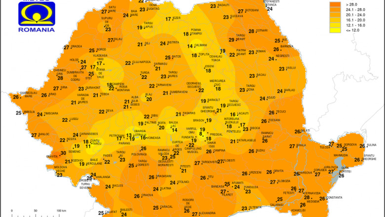 temperatura orara