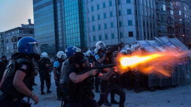turcia politie violente - GettyImages - 10 august 2015