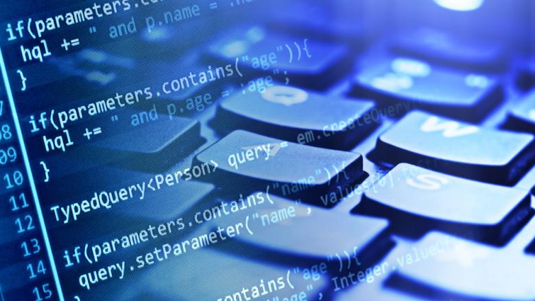 code and keyboard