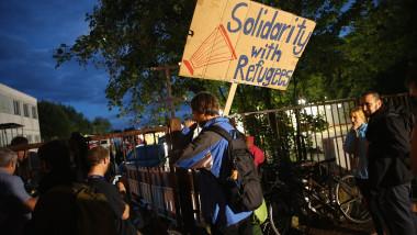 dresda manifestanti refugiati - GettyImages - 482148952