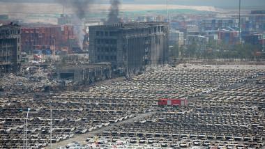Dezastru explozii Tianjin China GettyImages august 2015-1