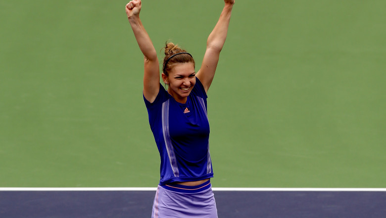 Simona Halep Indian Wells 2015 - Guliver GettyImages 5