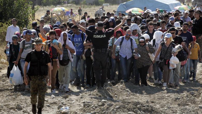 refugiati grecia macedonia - GettyImages - 24 august 15-3