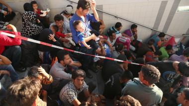 Imigranti refugiati in gara general GettyImages septembrie 2015