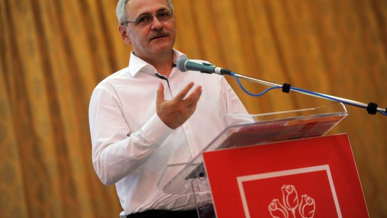 Conferinta-judeteana-a-PSD-Ilfov- Liviu Dragnea la tribuna psd ro 17 08 2015-1