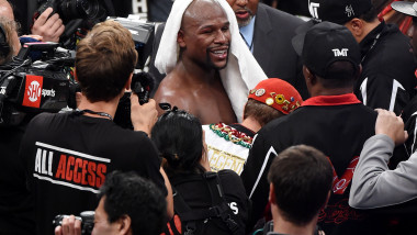 mayweather retragere 12 sept 2015 - GettyImages-487995888