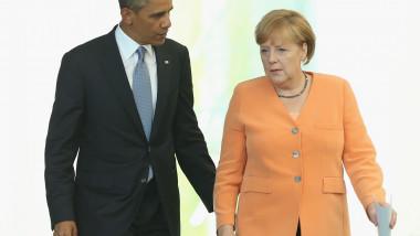 Obama si Merkel - Guliver GettyImages