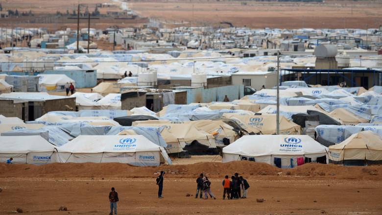 Tabara de refugiati in Iordan GettyImages