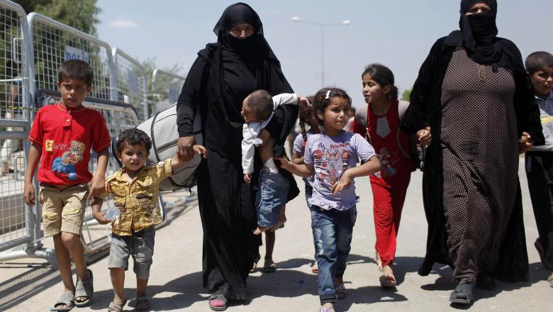 copii refugiati siria - GettyImages - 22072015