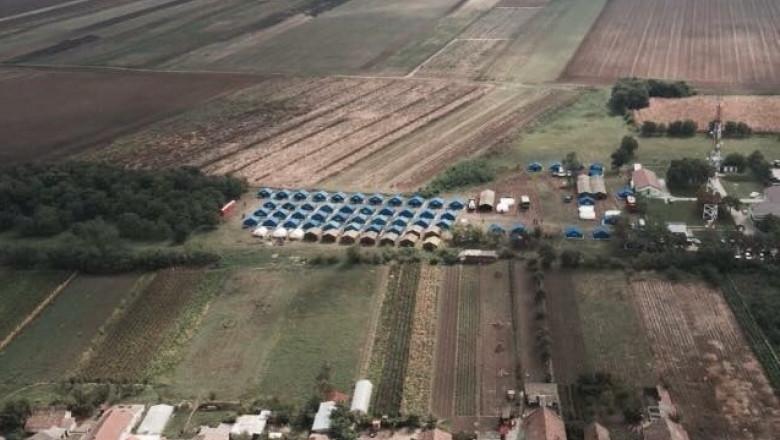 tabara de refugiati in romania 20 09 2015