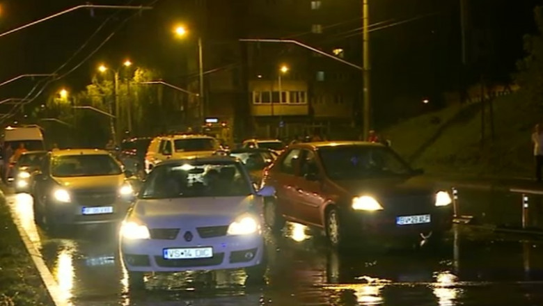 inundatii brasov captura digi24 21 09 2015