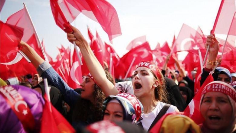 miting turcia - twitter