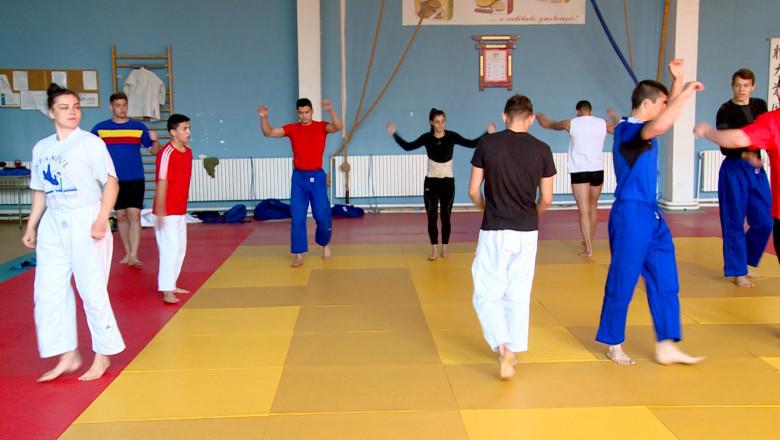 antrenament judo
