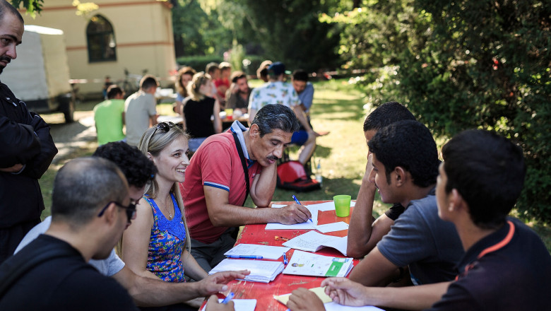 refugiati imigranti inregistrare acte - GettyImages - 31 august 2015