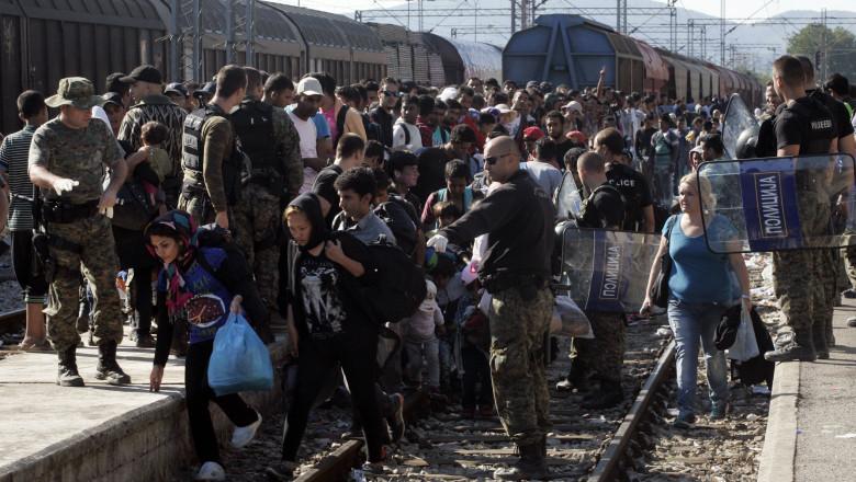 Refugiati Macedonia GettyImages august 2015