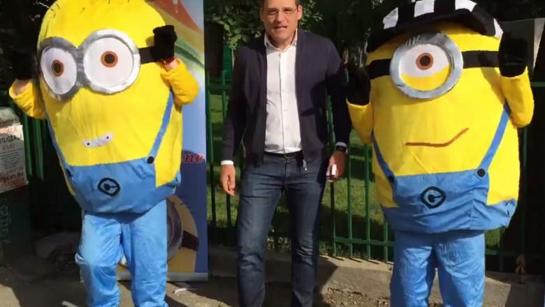 gabriel mutu campanie electorala cu minioni 09 10 2015