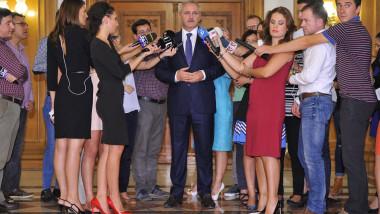 liviu dragnea declaratii jurnalisti foto facebook psd 24 09 2015