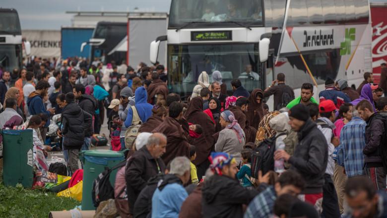 refugiati austria imigranti - GettyImages - 30 sept 15