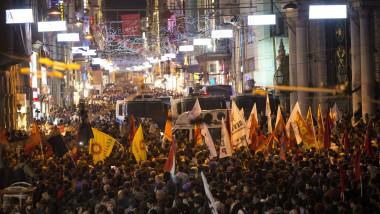 proteste istanbul agerpres