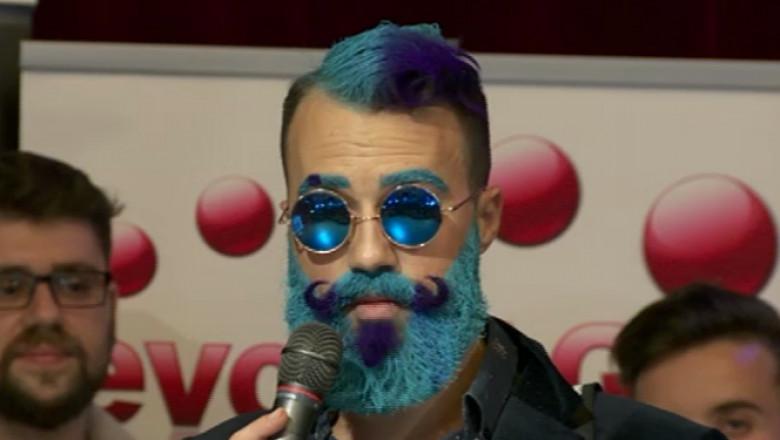 barbos albastru