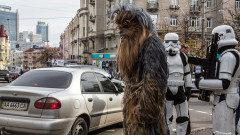 chewbacca - razboiul stelelor ucraina - GettyImages - 26 10 15
