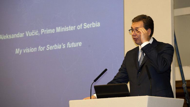GettyImages Aleksandar Vucic premier Serbia