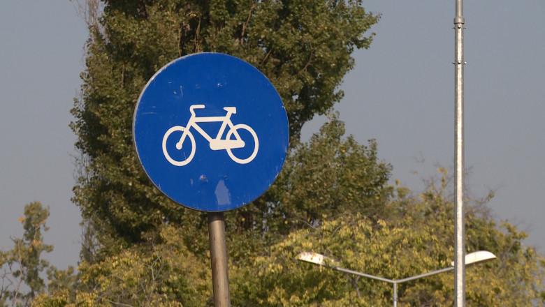 semn de biciclete