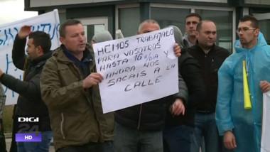protest romania spania