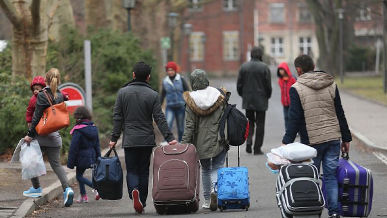 refugiati germania getty