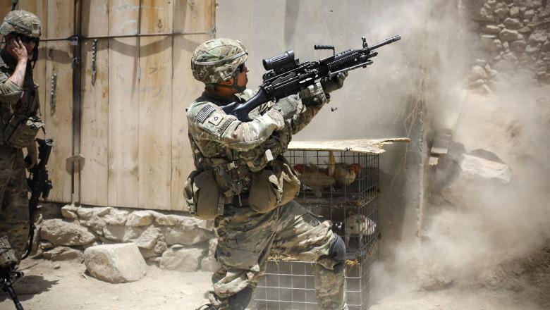 Militari americani in Afganistant - GuliverGettyImages