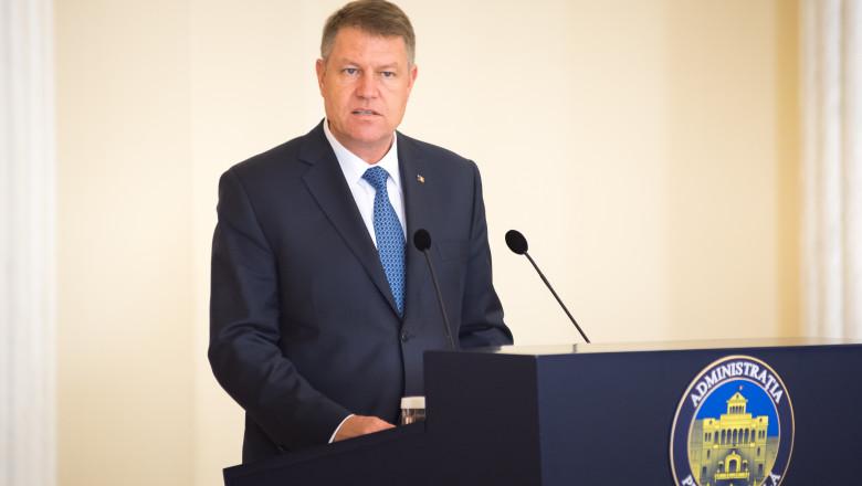 Klaus Iohannis declaratii presidency.ro noiembrie 2015 1