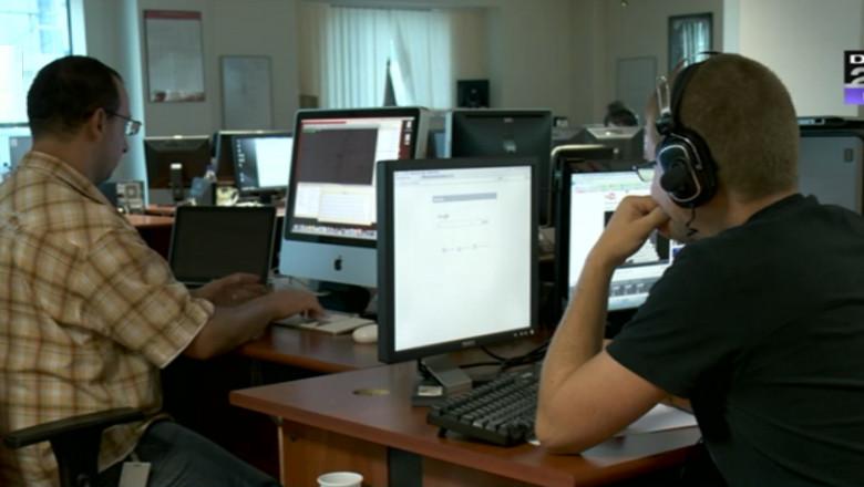 oameni la calculatoare digi