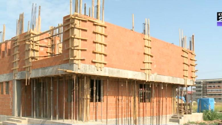 casa in constructie
