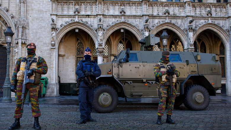 BRUXELLES MILITARIZATGettyImages-498446966