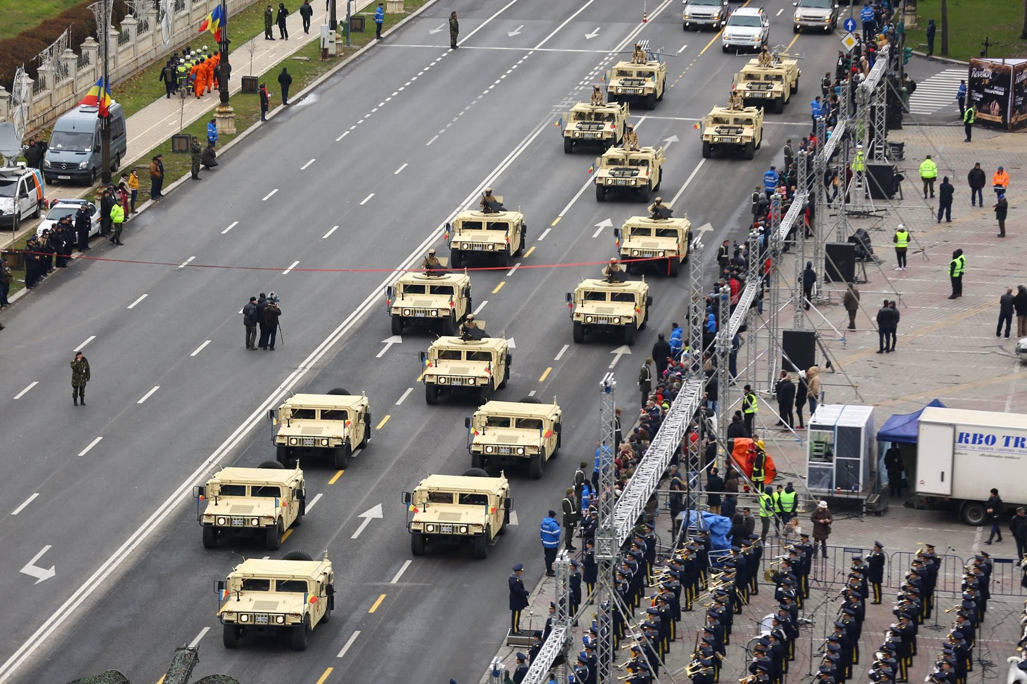 Repetitii parada militara 1 decembrie. Foto - MApN 4