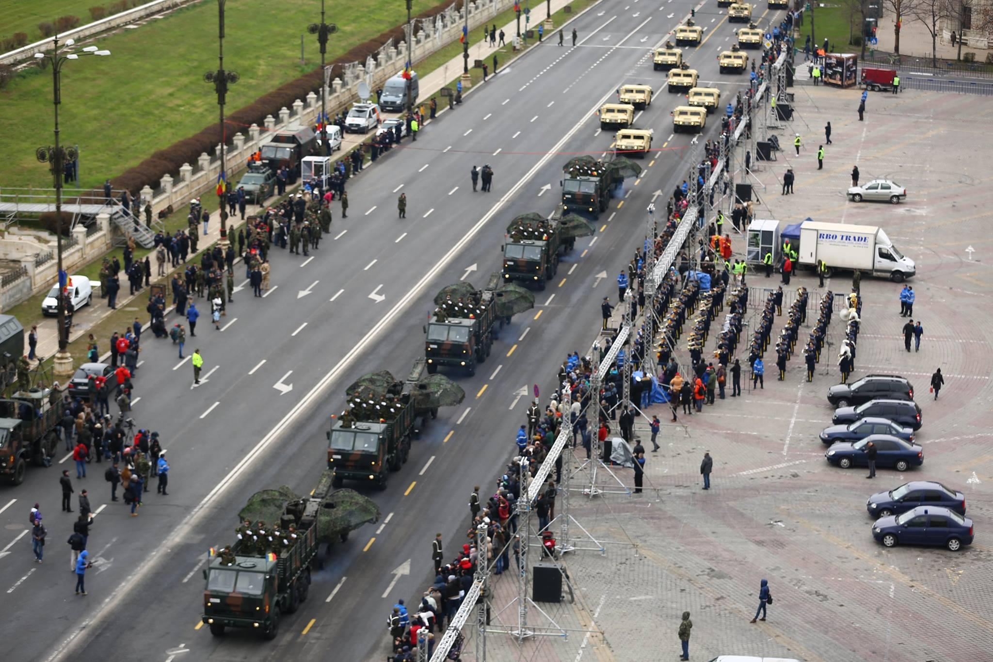Repetitii parada militara 1 decembrie. Foto - MApN 5
