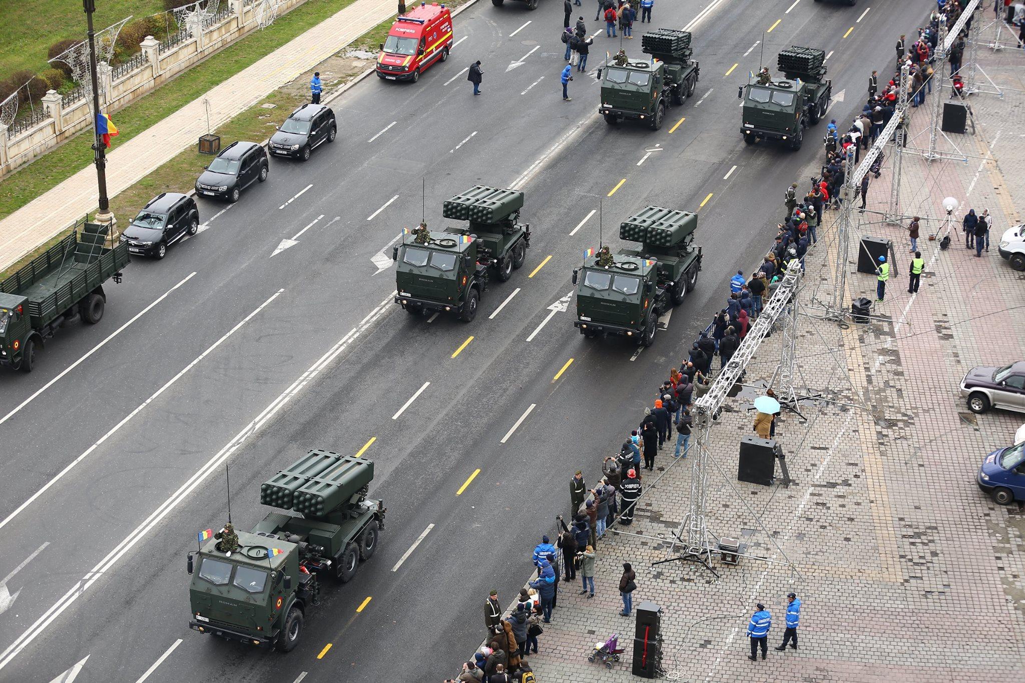 Repetitii parada militara 1 decembrie. Foto - MApN 6