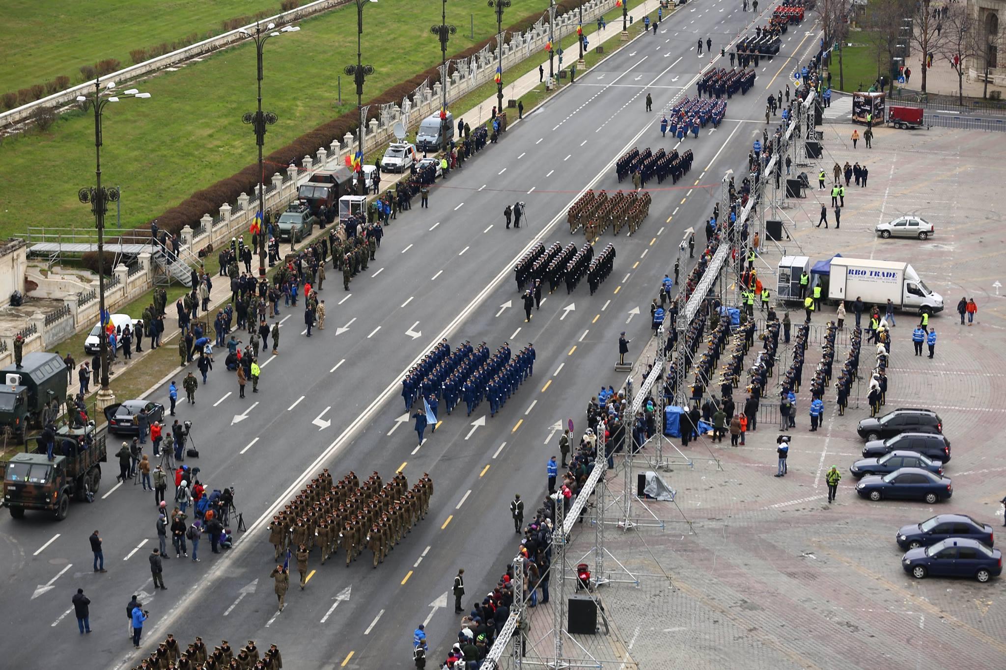 Repetitii parada militara 1 decembrie. Foto - MApN 12