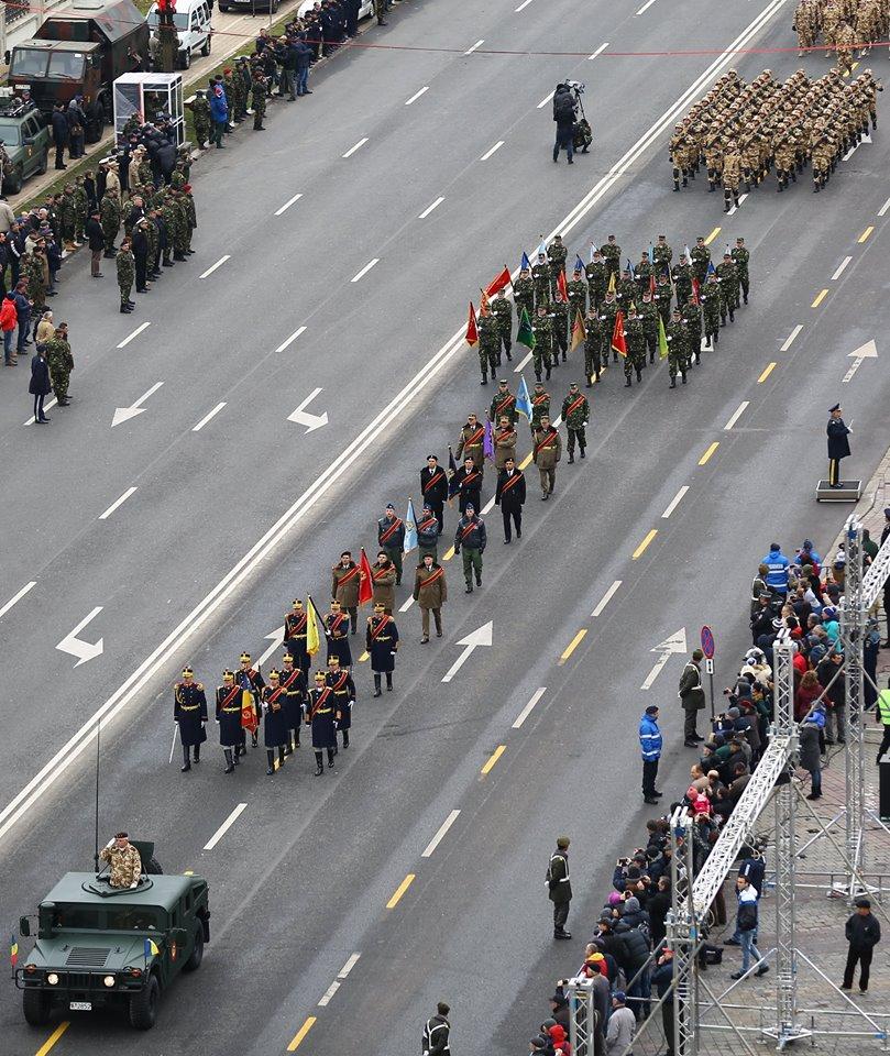 Repetitii parada militara 1 decembrie. Foto - MApN 15