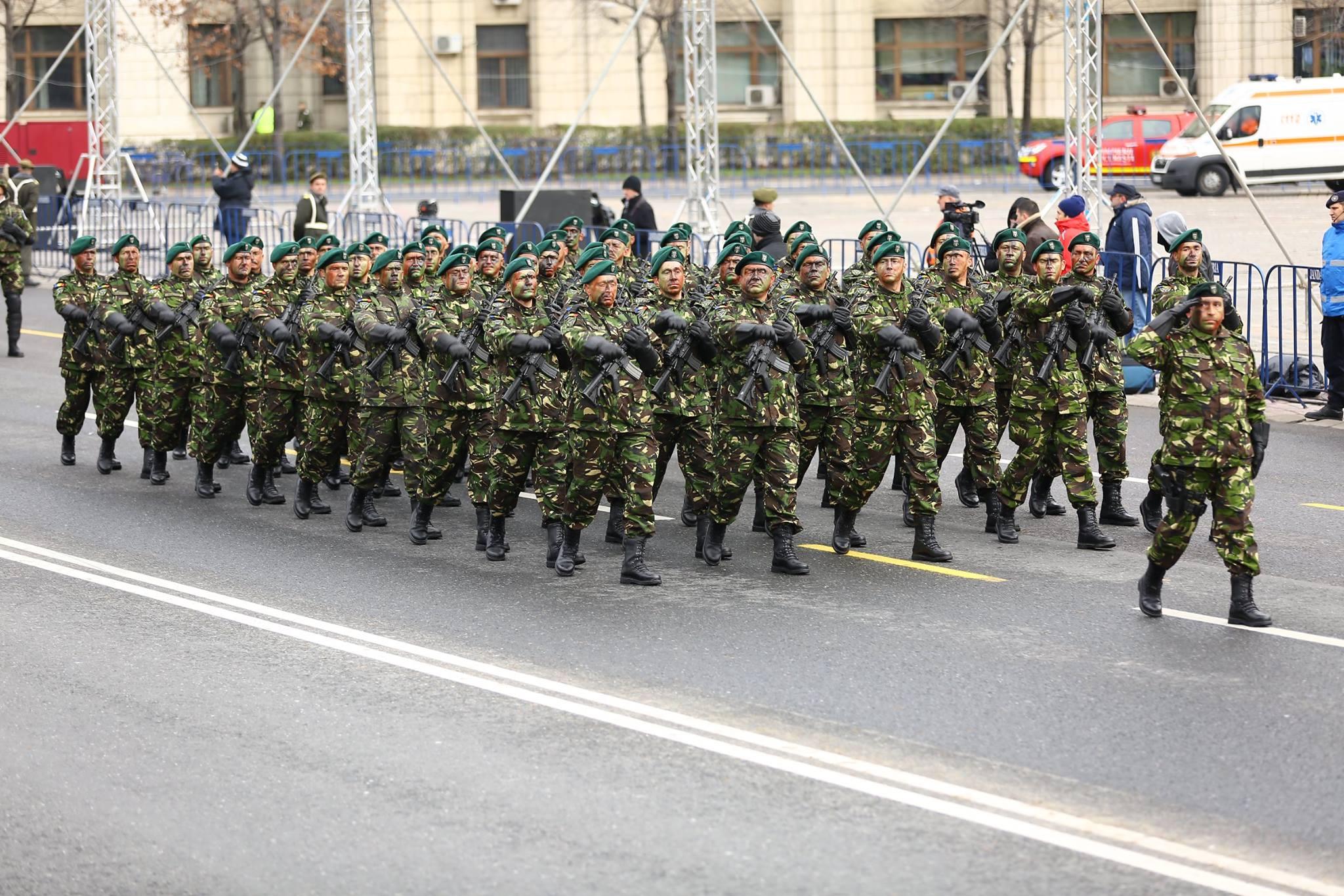 Repetitii parada militara 1 decembrie. Foto - MApN 20